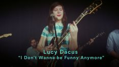 """Lucy Dacus - """"I Don't Wanna be Funny Anymore"""" (Official Music Video)"""
