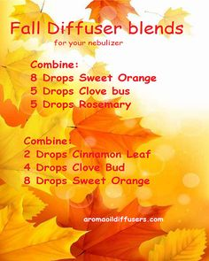 Fall Diffusers blends recipes you might enjoy http://www.aromaoildiffusers.com/product-category/essential-oils/ …