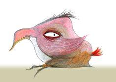 Blob Bird | Carla Sonheim
