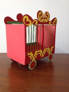 caixas para festa de circo | Zampolli Personalizados | 3BB17E - Elo7