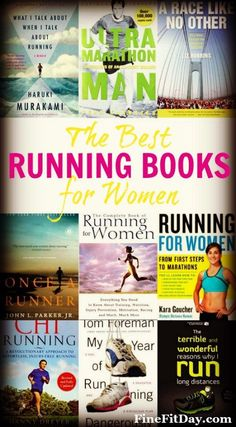 Check out what's on this runner and personal trainer's bookshelf when it comes to the best running books for women. From specific books for women's running, to novels, brain training and inspiration, find something new to read here.