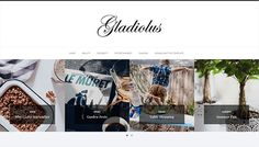 Gladiolus Minimal Blogger Template | High Quality Free Blogger Templates