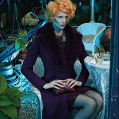 FASHION VERTIGO: Katrin Thormann for Apropos Journal Fall/Winter 2013 http://www.fashion.net/today/