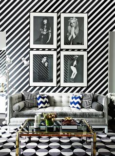 Australian interior designer Greg Natale is the king of pattern. He loves transforming a room using bold prints you wouldn't normally consider pairing together. When he does it, you wonder why you never thought of it before.