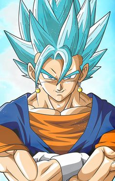Gogeta Super saiyan blue Dragon Ball Super