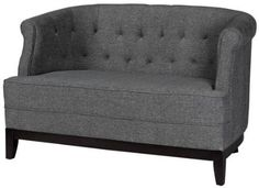 Travette Tufted Studio Sofa 32Hx50W TXTRD SLD CHRCL ** Check this awesome product by going to the link at the image.