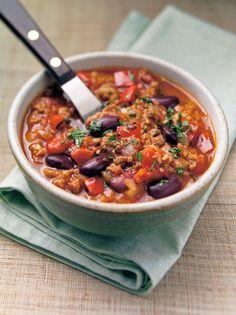 Fazolová guláš Chili, Soups, Cooking, Candy, Eat, Kitchen, Chile, Soup, Sweets