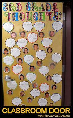 Dozens of Classroom Doors Decorated for every season! Teacher appreciation, Dr. Seuss, Back-to-School ideas galore at RainbowsWithinReach