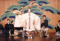 """NOH Yoshimasa Kanze in """"Hagoromo"""" © Kanze Yoshimasa/KAMIASOBI/Aoki Shinji"""