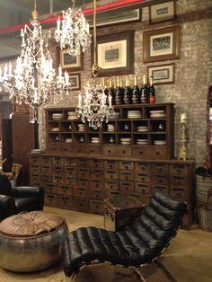 Interior design | decoration | home and restaurant decor | warm | bricks | leather | vintage | reclaimed