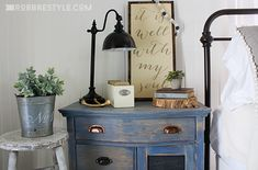 DIY Color Stain Project: Bedroom Sideboard