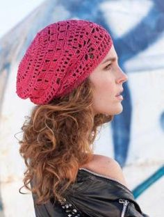 Ladies' Crochet hat pattern