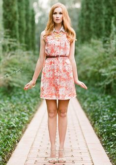 Coconut Grove Printed Dress | Modern Vintage Outfits Under $100
