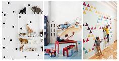 Co na ściany do pokoju dziecka? 11 oryginalnych pomysłów #INSPIRACJE #POKOJE #WNĘTRZE #POKÓJ DZIECKA
