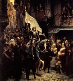 mulheres guerreiras que mudaram a História - Joana d'Arc (século XV) Sofrendo de visões com Deus e seus anjos desde os 13 anos de idade, a jovem Joana d'Arc certo dia foi até o ainda não coroado rei da França, Carlos VII, convencendo-o a deixá-la enfrentar a invasão britânica durante a Guerra dos Cem Anos. Enviada para o cerco em apenas nove dias provou seu valor como estrategista e guerreira. Foi capturada e julgada herege por uma falsa corte católica, que a queimou viva. Mega Curioso