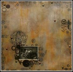 Steampunk Steampunk, Scrapbooking, Painting, Art, Craft Art, Paintings, Scrapbook, Kunst, Gcse Art