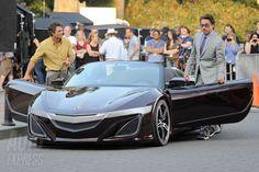 Bruce Banner (The Hulk) + Tony Starks (Iron Man)  + New Acura NSX