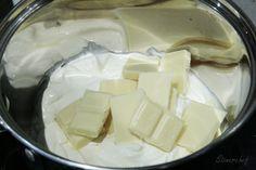 Sernik Bounty z polewą z białej czekolady - Stonerchef Feta, Camembert Cheese, Cake Recipes, Dairy, Food Cakes, Cakes, Recipes For Cakes, Baking Recipes, Pie Recipes