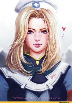 Mercy (Overwatch),Overwatch,Blizzard,Blizzard Entertainment,фэндомы,Overwatch art,joycelyn ong
