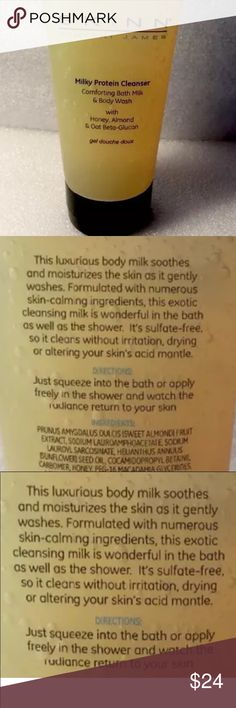 """Skinn Milky Protein Cleanser 6.5 oz Skinn milky protein cleanser! Best skin care I have ever used! Skinn products are highest quality with more of """"Actives"""" ( things that help your skin) in stead of water or Aqua in other products. SKINN Makeup"""