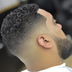 zeke_the_barber_and+clean+sharp+fade+with+curls+on+top