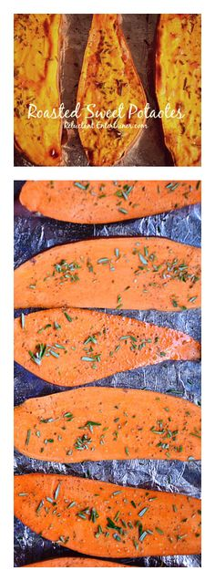 Roasted Sweet Potatoes with Rosemary | ReluctantEntertainer.com