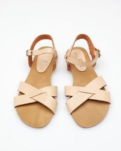 Melbourne sandal - These are perfect! Natural leather is so pretty - even prettier once it gets a patina.