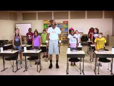 """We like to call this Move to Learn video """"Fitness Break!"""" If your students seem sluggish, give them some brain power with this energetic video. #teachers #mississippi #classroom #fitness"""