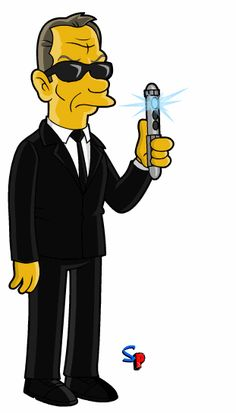 Springfield Punx: They Won't Let You Remember... Again. Tommy Lee Jones as Kay in Men in Black