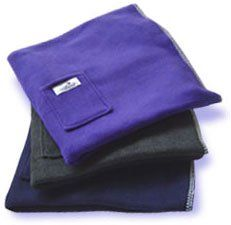 Yoga Meditation Blanket (Purple) - The most versatile yoga and meditation props, by Wellbeing $12.00