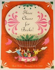 Adrienne Adams, Illustrator, 1963  The Art of Children's Picture Books: Vintage Children's Book Week Posters