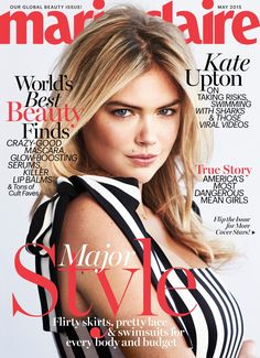 Kate Upton on Marie Claire May 2015 Cover