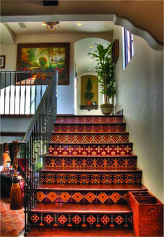 Gardens & Landscaping > Spanish Garden Classic Design Stairs For Spanish Style Home Interior Home. 196 times like by user Spanish Garden Water Stairs The Spanish Stairs Rome, author James Fraser. Spanish Home Decor, Spanish Interior, Mediterranean Home Decor, Spanish Colonial Decor, Mexican Home Decor, Spanish Decorations, 1920s Home Decor, Colonial Style Homes, Spanish Style Homes