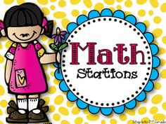 Queen of the First Grade Jungle: Math Work Stations Part 2: The Set-Up