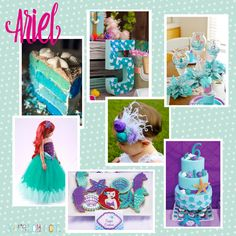 My daughter is having a birthday party & it's completely inspired by Ariel
