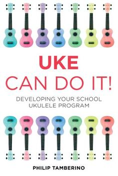 At a lesser expense than any other instrument which can do as much, the ukulele is perfect for breathing fresh air into any music program. Uke Can Do It provides everything music educators need to develop a ukulele program in their school Music Lesson Plans, Music Lessons, Guitar Lessons, Guitar Tips, Piano Lessons, Ukulele Songs, Ukulele Chords, Elementary Music, Elementary Schools