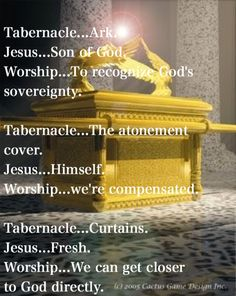 Tabernacle and Jesus