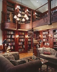 Home library - one day I want a library just like this one in my house by jimmie