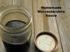 How To Make Homemade Worcestershire Sauce Homesteading - The Homestead Survival .Com