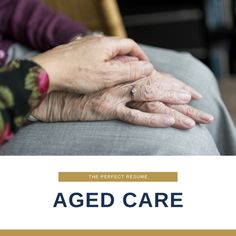 Click here to learn more about becoming an Aged Care Worker Helping Others, Helping People, Resume Review, Basic First Aid, Applied Psychology, Direct Instruction, Industry Research, Resume Writing Services, Perfect Resume