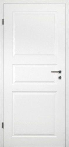 Innentür Zimmertür Stiltür RSP Weißlack weiss mit Zarge Türelement Element Tür