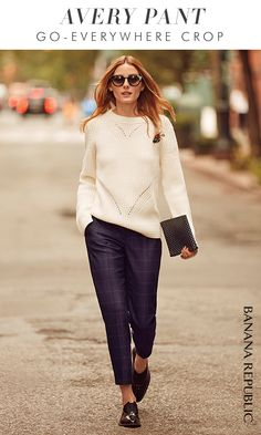 """A tailored mid-rise crop, Avery is the polished pant of the season. """"These pants fit so well and very flattering."""" A customer in Texas. When a perfect fit meets the perfect length, you'll find Avery. Top with your own style and gorgeously go. Shop now."""