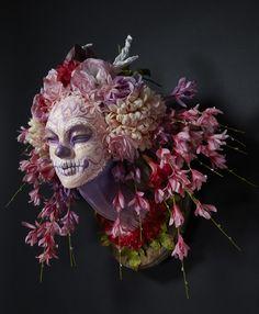Krisztianna. These Dia de los Muertos sculptures... - Supersonic Electronic Art
