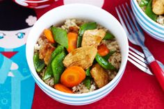 This easy stir-fry is a great weeknight option and can be made by the kids.
