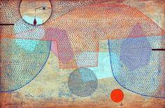 Paul Klee - 'Sunset' (1930)
