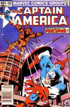 Captain America # 285 by Mike Zeck & John Beatty