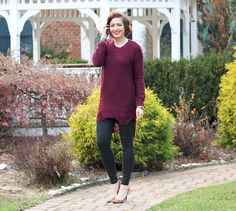 Leggings:   Ralph Lauren  // Tunic:   MakeMeChic  // Watch:   JORD // Bracelets:   Wanderer  (use code JGTH to receiv...