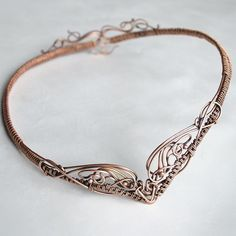 Intricate Circlet   JewelryLessons.com