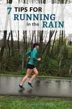 7 tips for running in the rain running map, running form, best running shorts Camping In The Rain, Running In The Rain, Running Form, Keep Running, Running Tips, Running Training, Fit Girl Motivation, Running Motivation, Fitness Motivation