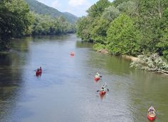 Canoeing on the Clinch River, Natural Tunnel State Park, Duffield, VA